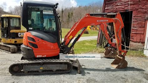 zero tail swing 2014 kubota u25 zero tail swing mini excavator