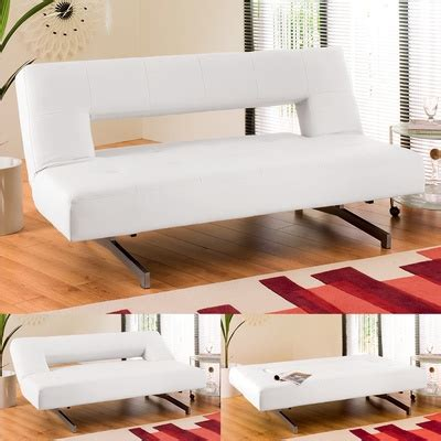 Pisa Sofa Bed Dwell Pisa Sofa Bed In White Adding To The Lofty Feel Of Our Photography Studio In Croydon