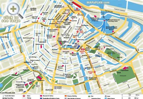 amsterdam museum district map amsterdam maps top tourist attractions free printable