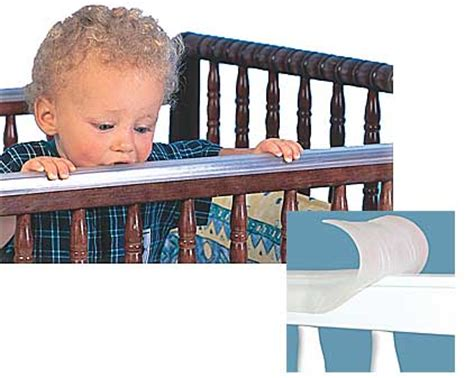 Plastic Cover For Crib Railing by Gummi Crib Rail Cover
