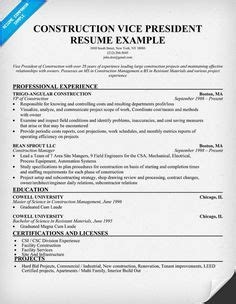 Construction Estimator Sle Resume by 1000 Images About My Career On Resume Resume Exles And Construction Estimator