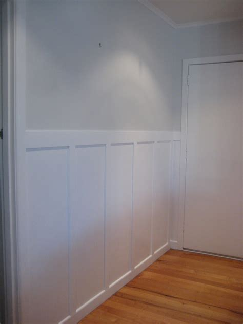 Mdf Wainscoting Diy Sommerwhite Wall Panelling