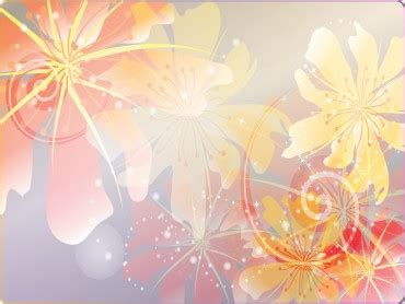 Colorful Floral Powerpoint Templates Flowers Orange Colorful Floral Powerpoint Templates Flowers Orange