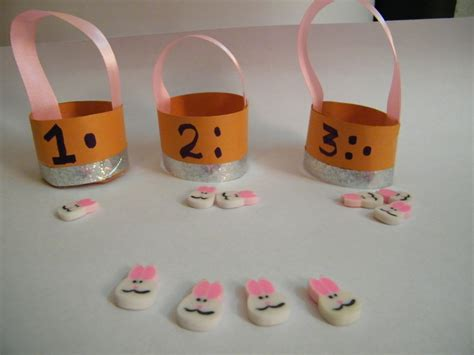 children craft projects make easter counting craft activities for