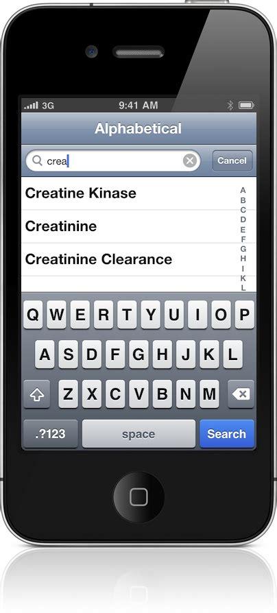 creatinine values normal lab values