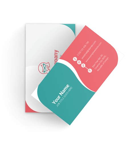 visiting card templates png vector business card quot impression quot freebie graphicmama