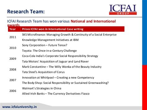 Mba From Icfai by Mba Icfai