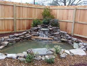 Small Backyard Pond Ideas Small Pond Pictures
