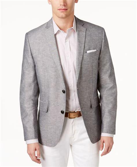 light gray blazer mens gray sport coat han coats