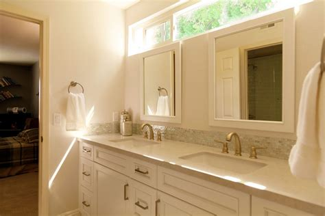 jack and jill sinks beyond the master bath a traditional look for a guest and