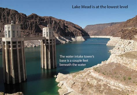 Lake Mead Bathtub Ring Stargate Dismantle The Beam Project