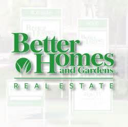 better homes and gardens real estate better homes and gardens real estate signs sign