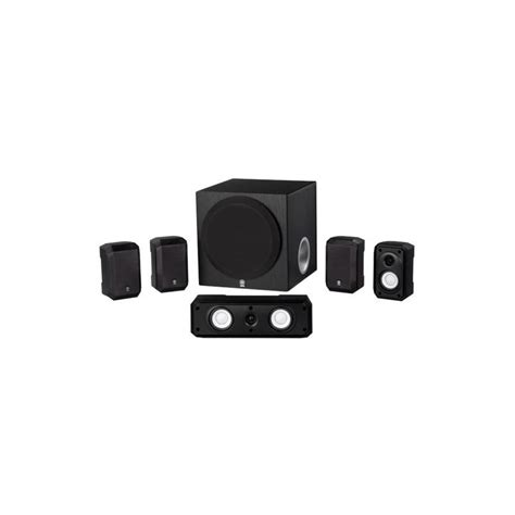 yamaha ns spbl  channel home theater speaker