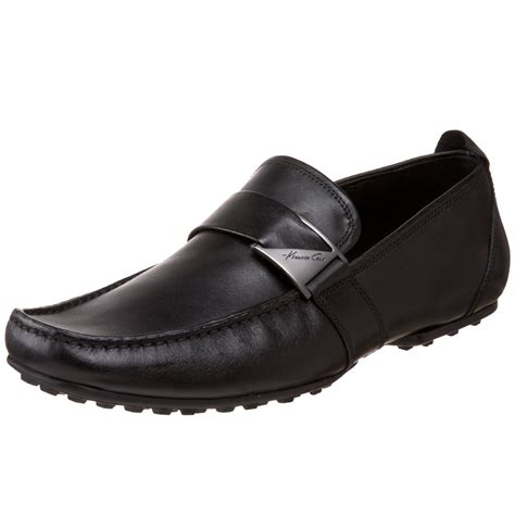 next loafers kenneth cole next wave loafer in black for lyst