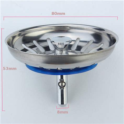 Kitchen Sink Filter 304 Stainless Steel Kitchen Sink Strainer Stopper Waste Sink Filter Alex Nld