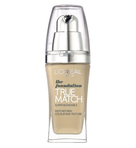 Foundation Loreal True Match 15 Budget Buys Make Up Artists Stellar