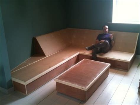 built in couch built in sofa bespoke built in corner sofa with storage