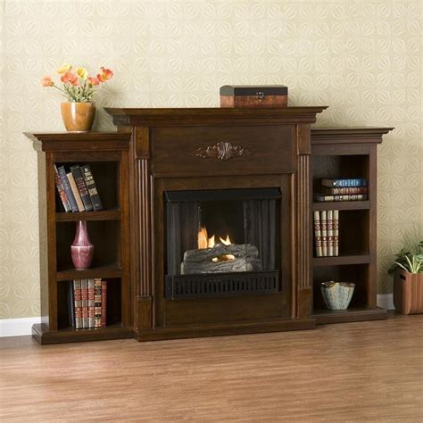 Fireplace Overstock by Upton Home Dublin Espresso Gel Fireplace