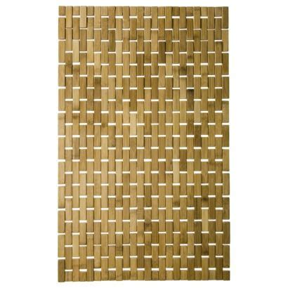 bamboo rug target threshold bamboo wood rattan mat 18x29 quot new house rattan bathroom and target