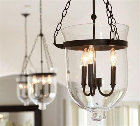 Pottery Barn Light by Pottery Barn Hundi Lantern Bell Jar Pendant Only 40