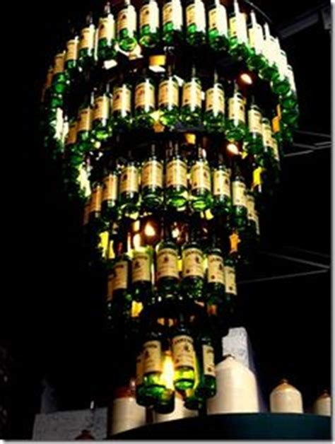 Whiskey Bottle Chandelier Creative Uses For Whisky Bottles On Pinterest Bottle Ls Bottles And Tiki Torches