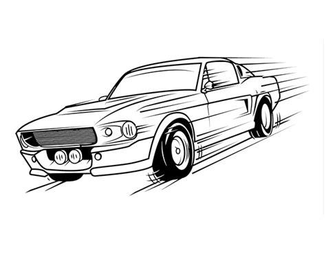 imagenes de carros para colorear chidos archivos dibujos de autos disegno di mustang retr 242 da colorare acolore