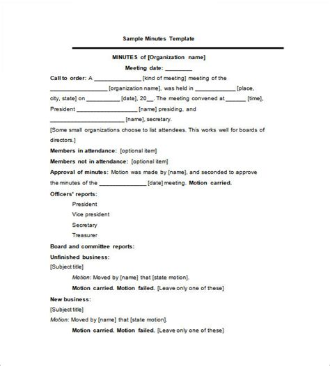 format mom minutes of meeting template 27 free sle exle