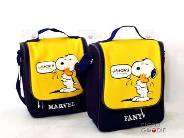 Souvenir Lunch Bag Kidstas Selempang 40 pouch goodie bag anak souvenir ultah pictogoodie surabaya jakarta