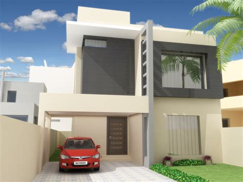 Architectural Home Design By Ahmed Waqas Category Private Houses Type Exterior | architectural home design by ahmed waqas category