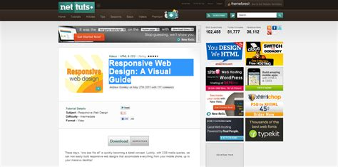 tutorial responsive design wordpress 20 really helpful responsive web design tutorials idevie