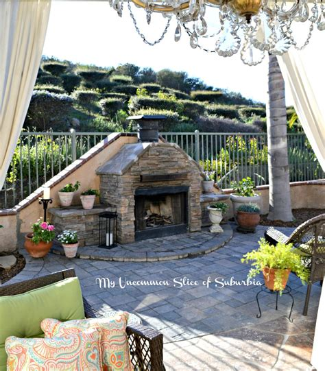 how to build an outdoor stacked fireplace