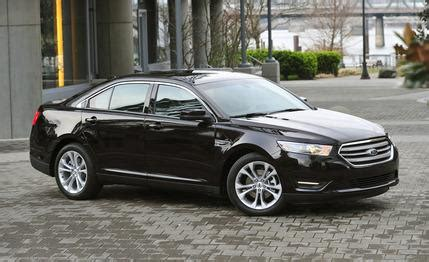 2013 ford taurus sel awd instrumented test – review – car