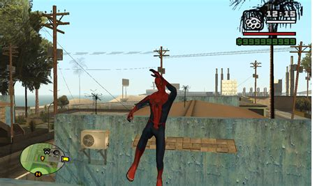gta san andreas spiderman mod game free download for pc the amazing spider man skin file mod db