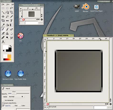 gimp tutorial icon gimp creating icons