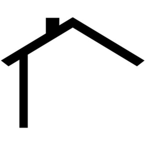outline of a house clipart best