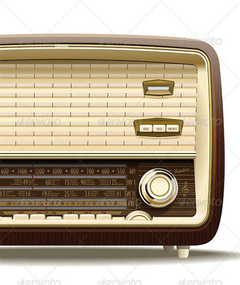 template photoshop radio old radio graphicriver