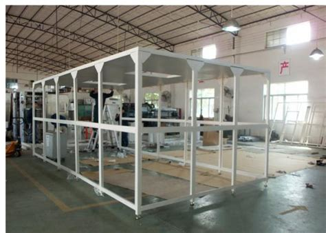 used modular clean rooms for sale biological lab modular softwall clean room class 10000 99 999 0 3um of airshowertunnel