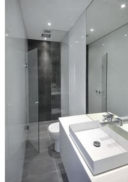 Coloured Glass Panels for Bathrooms from JELD WEN Australia