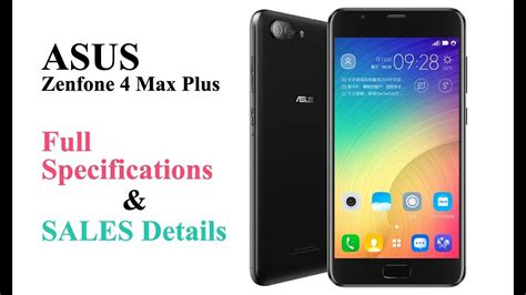 Asus Zenfone 4 Max Plus asus zenfone 4 max plus zc550tl x015d specifications