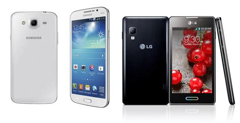 Lg L Bell samsung galaxy mega 6 3 and lg optimus l5 ii are bell