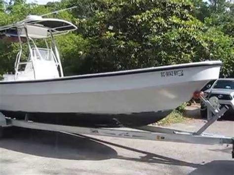 angler panga boat 2005 angler 2600 panga youtube