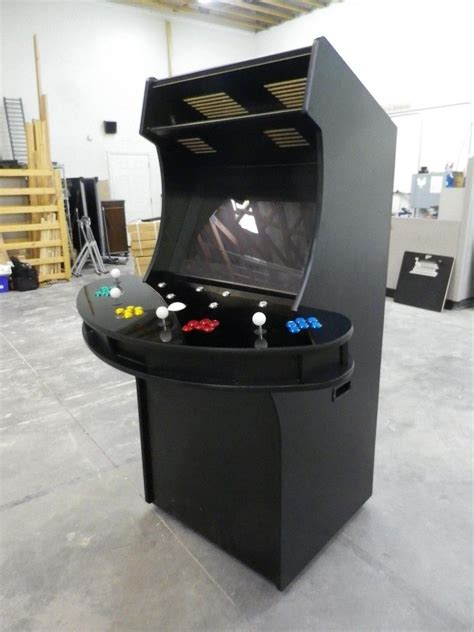 hand made 4 player arcade cabinet by isaac edwards