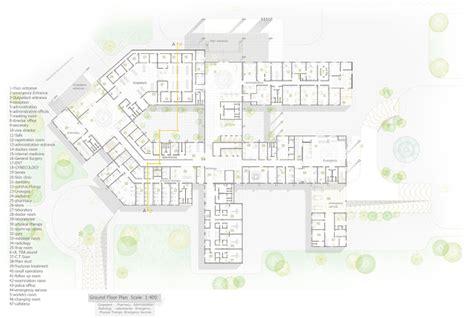 general hospital floor plan graduation project 03 general hospital by ibrahem omar