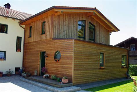 Anbau Haus Holz by Hausanbau Holz Haus Dekoration