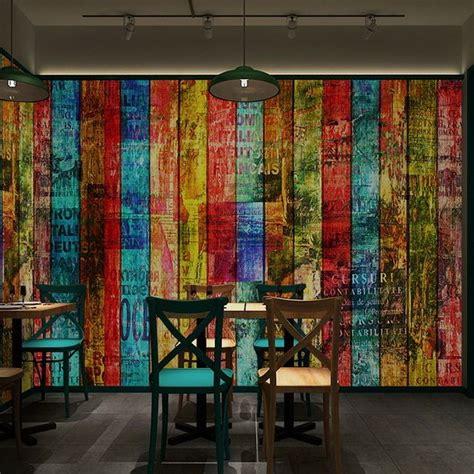 shippingdcolor wood wallpaper vintage brick wall
