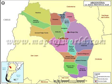la rioja province argentina junglekey com image la rioja map province of la rioja argentina