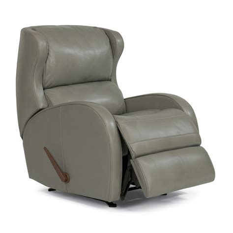 Cheap Rocking Recliners by Flexsteel 1269 510 Dawson Leather Rocking Recliner