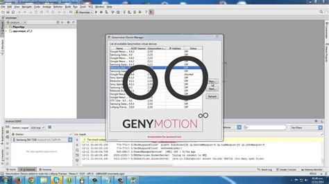 android studio genymotion install genymotion in android studio 1 0