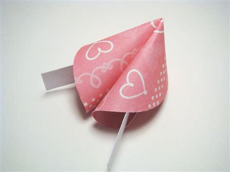 Fortune Cookie Origami - breast cancer awareness origami fortune cookies set of