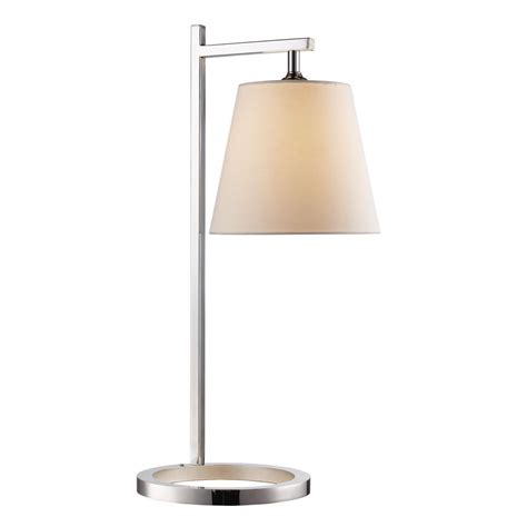 bel air lighting 25 in polished chrome table l